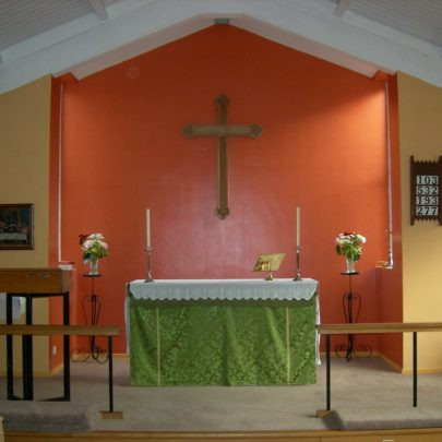 Inside the New St Anne's Church 2009