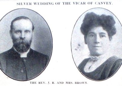 Silver Wedding of the Vicar of Canvey