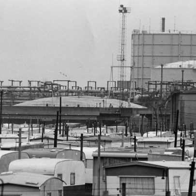Very close to the caravans on Thorney Bay camp 1981 | Echo Newspaper Archive