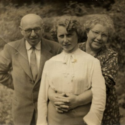 Leonid and Sonia Galperin with their daughter Anita. | Pamela Winborne