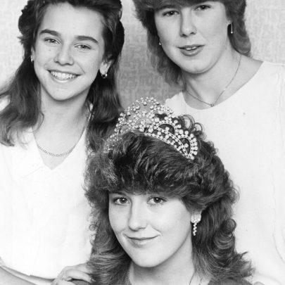 1986 Karen Hearn, Teresa Smith and Maria Rawlings