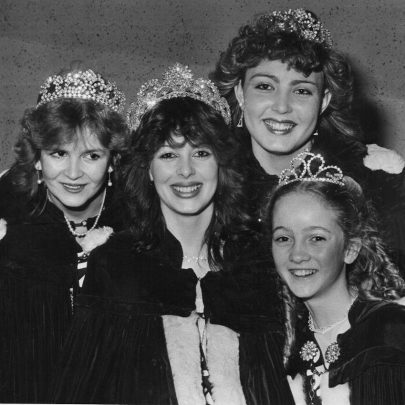 1985 New Court Julie-Anne Goods, Kelly Styles, Dana Petty and Debbie Mascall