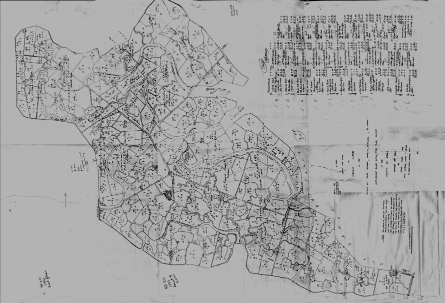 Canvey Map 1793