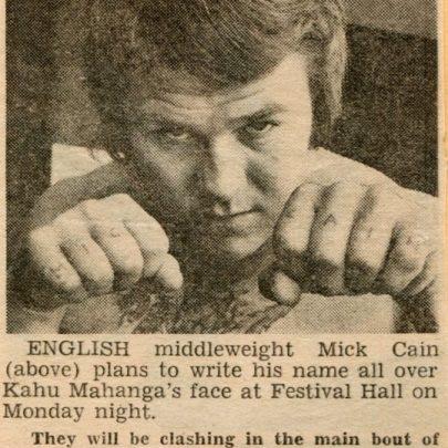 Mick in Australia   Mick Cain