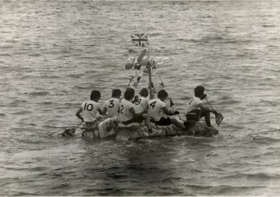 Lifeguard's Raft Race