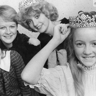 1984 Junior Princess Competition far right Debbie Mascal