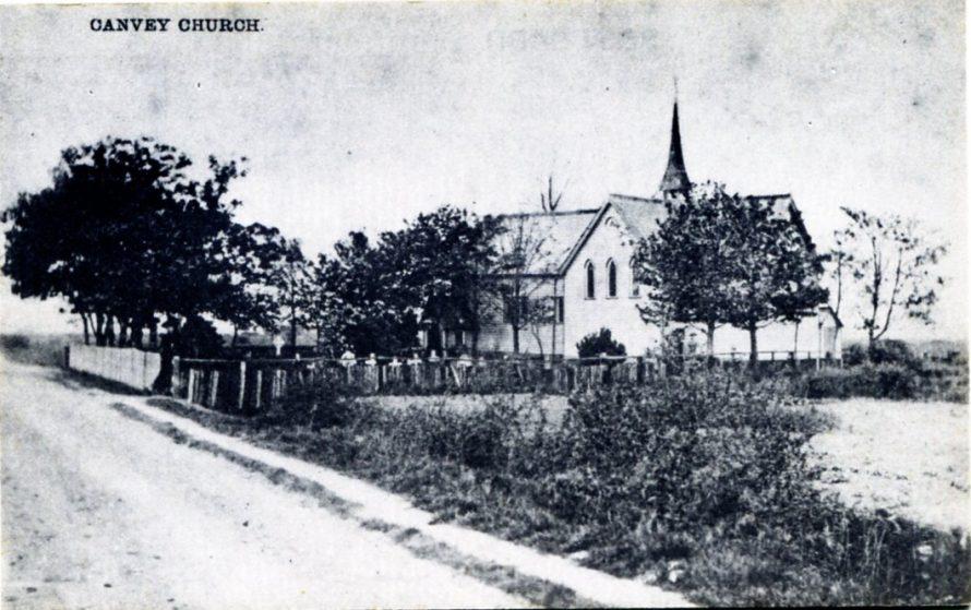 Modern Postcard of an Old scene