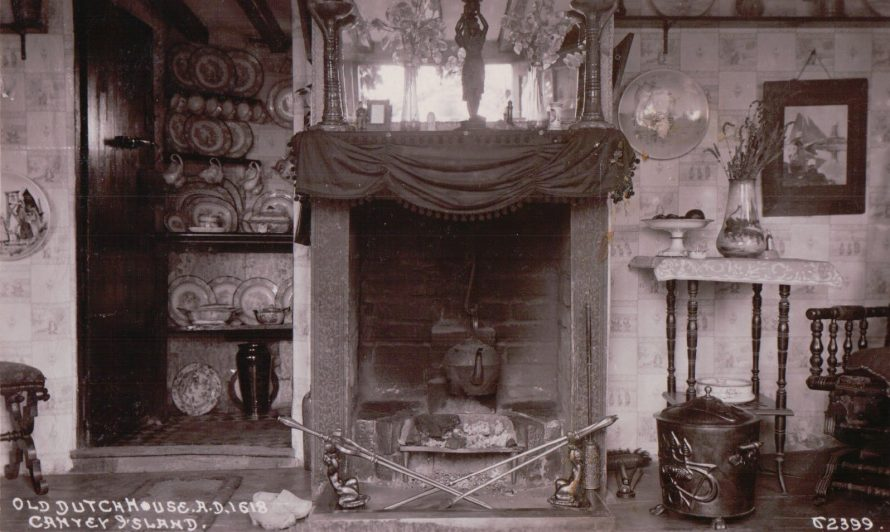 Inside the 1618 Dutch Cottage | Published by kind permission of the late Mr H.A. Osborne and Mr R.W Osborne.