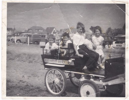 Billy Wells Pony Cart