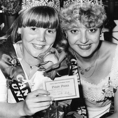 1983 Sandra Langlois and Melanie Wright