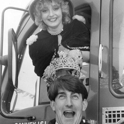 1984 Sandra Langlois and Steve Dartnell