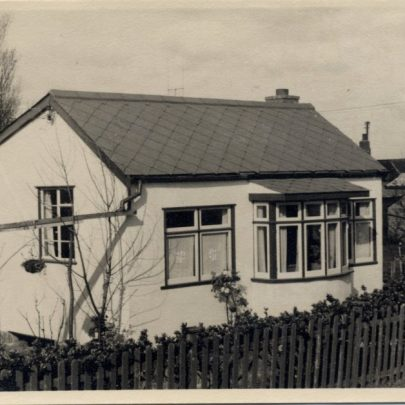 'Island Home' the bungalow next door to 'Tarry awhile' taken c1953 | Marjorie Parks