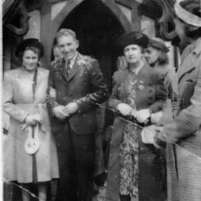 Charles and Kathleen's wedding 5th April 1941