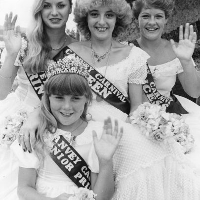 1983 Court Beverley Lambird, Sandra Langlois, Susan Dallas and Melanie Wright