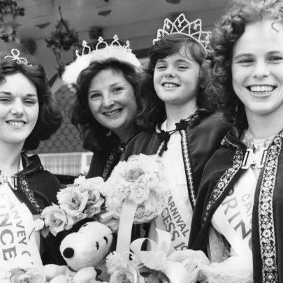 1978 Court Hilary Brand, Rosalind Hurst, Lisa Wright and Susan Culhane