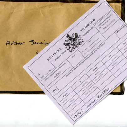 Telegram for Arthur Jennings