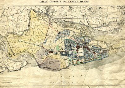 A.M. Clark Estate's Working Map