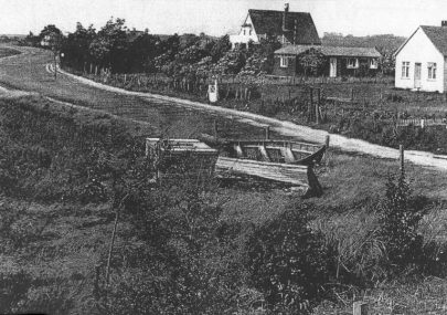 Early picture of the Lake