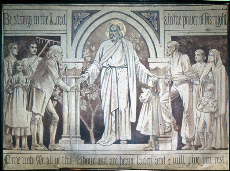 Mural in St Katherine's