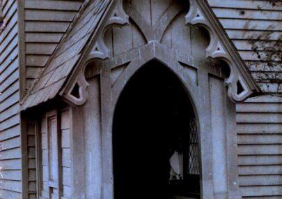 """Porch, Canvey Island Church"""