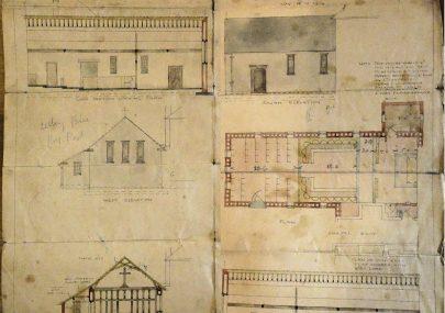 Plans for Convent Chapel