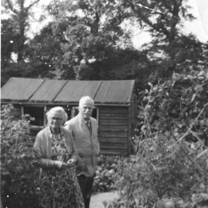 Auntie Blossom and Uncle Olllie c1960 | Graham Stevens