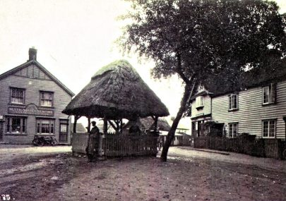 An Early Village Postcard