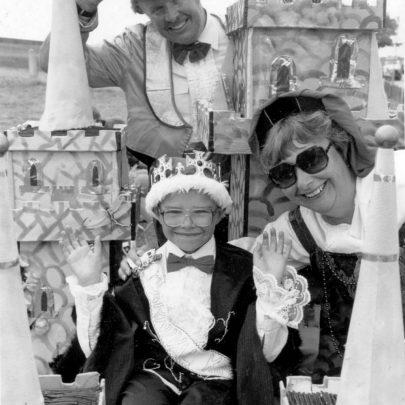 1993 King of the Castle Alan, Sheila and Ian Jones