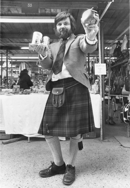 Stall Selling Haggis | Echo Newspaper Archive