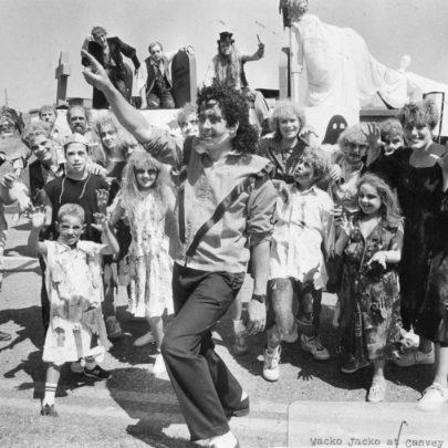 1989 Canvey Lifeguards 'Wacko Jacko's Frilla'