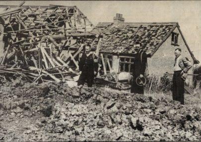 WW2 bomb damage Canvey Island
