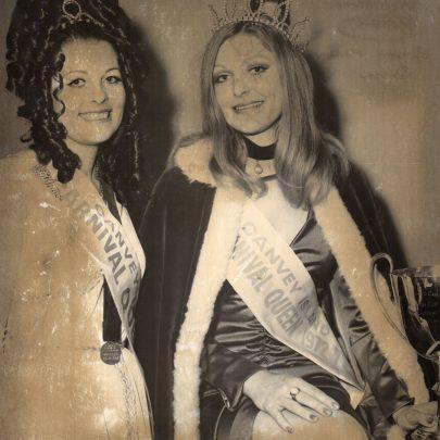1972 Shirley Scantlebury and Stephanie Morris