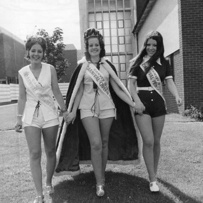 1971 Court Jill Debnam, Shirley Scantlebury and Christine Mills