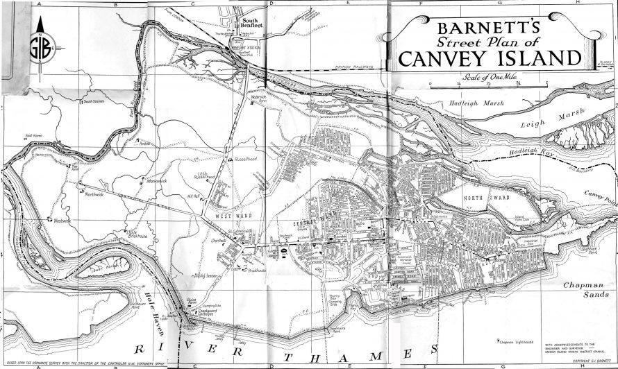 Barnett's Street Map