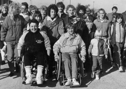 Sponsored Wheelchair Ride