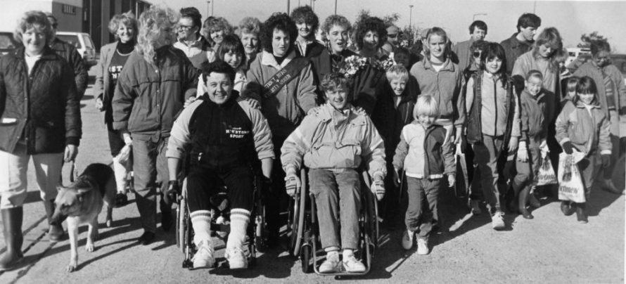 Sponsored Wheelchair Ride | Echo Newspaper Archive