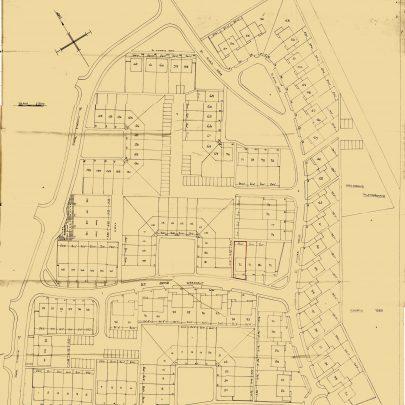 Plan of the Charfleets Housing Estate