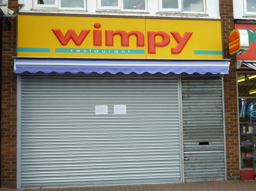 The Wimpy closed for ever August 4th | Janet Penn