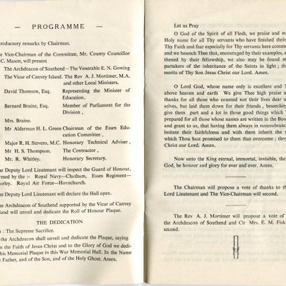 The Programme from 1953 | Nicky Pontius