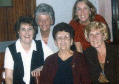Georgettes Juveniles reunion 1998