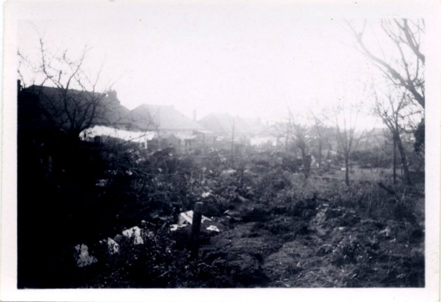 Canvey WW2 Bomb Site