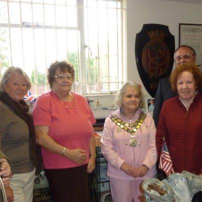 Jess, Ann, Irene, Mayor Jackie, John, Diane and Karen | Janet Penn