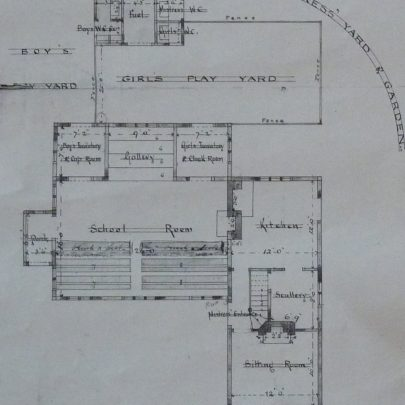 The ground floor and yard