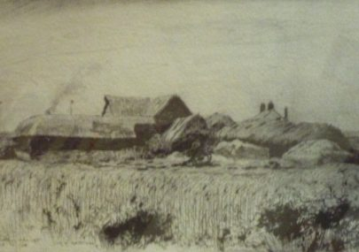Drawing of Sluice Farm