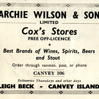Lots of Adverts from 1949