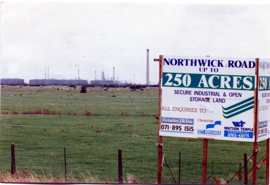 The Northwick Village site