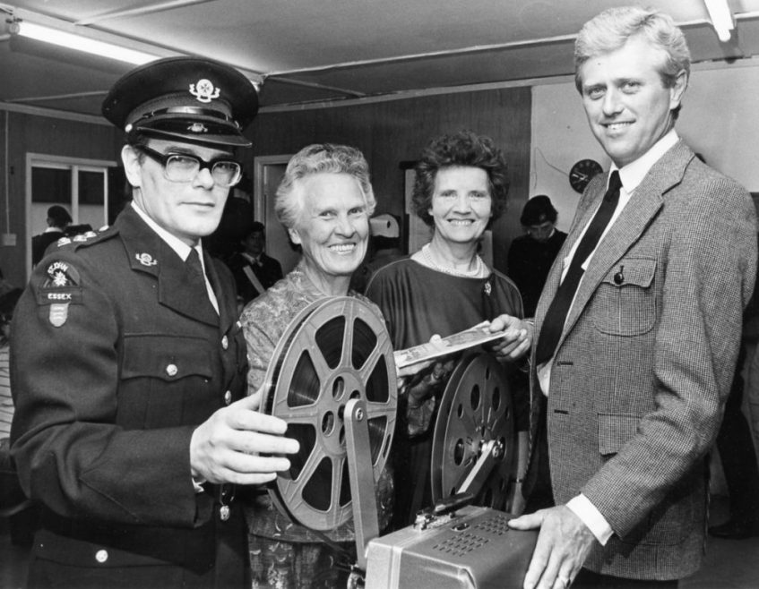 Presentation of Sound Projector | Echo Newspaper Archive