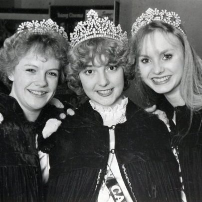 1983 Susan Dallas, Sandra Langlois and Beverly Lambird