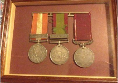 Ocean J Smith's Medals