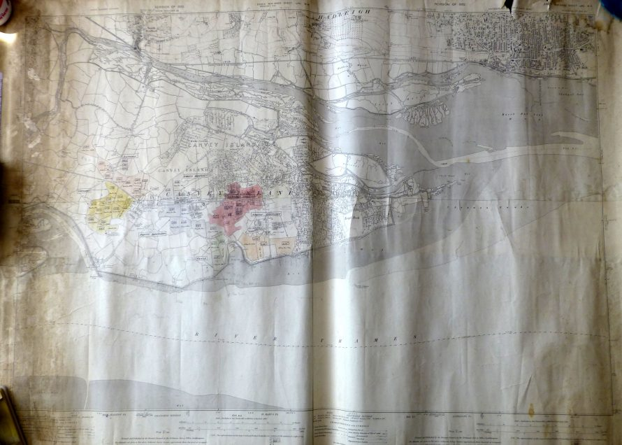 Canvey Map Dated 1932